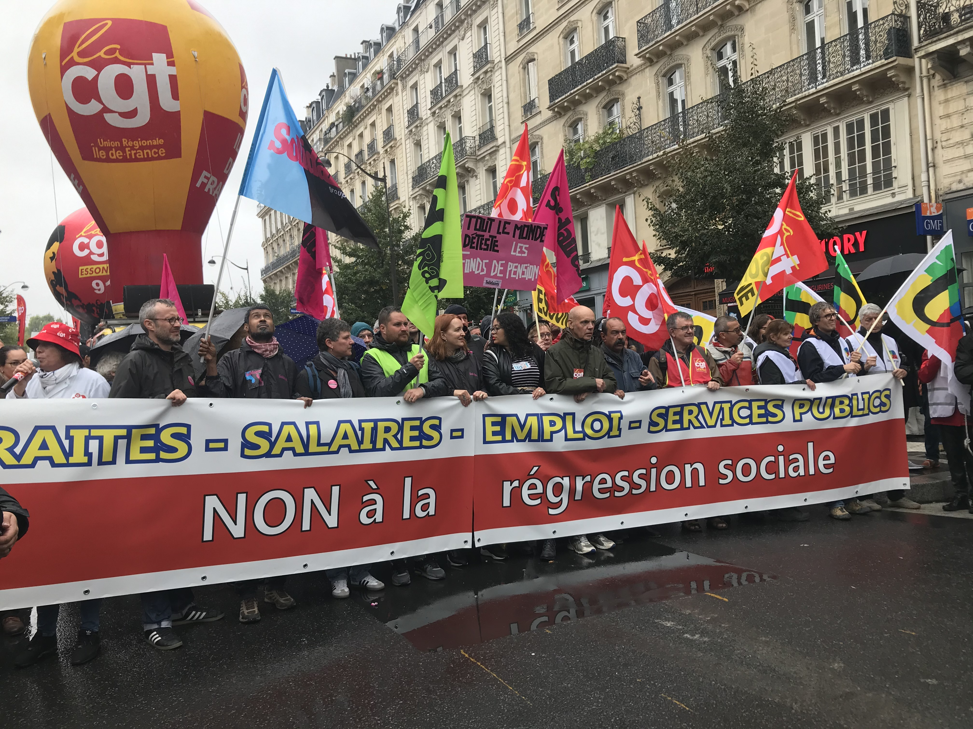manifestation à paris le 24 septembre