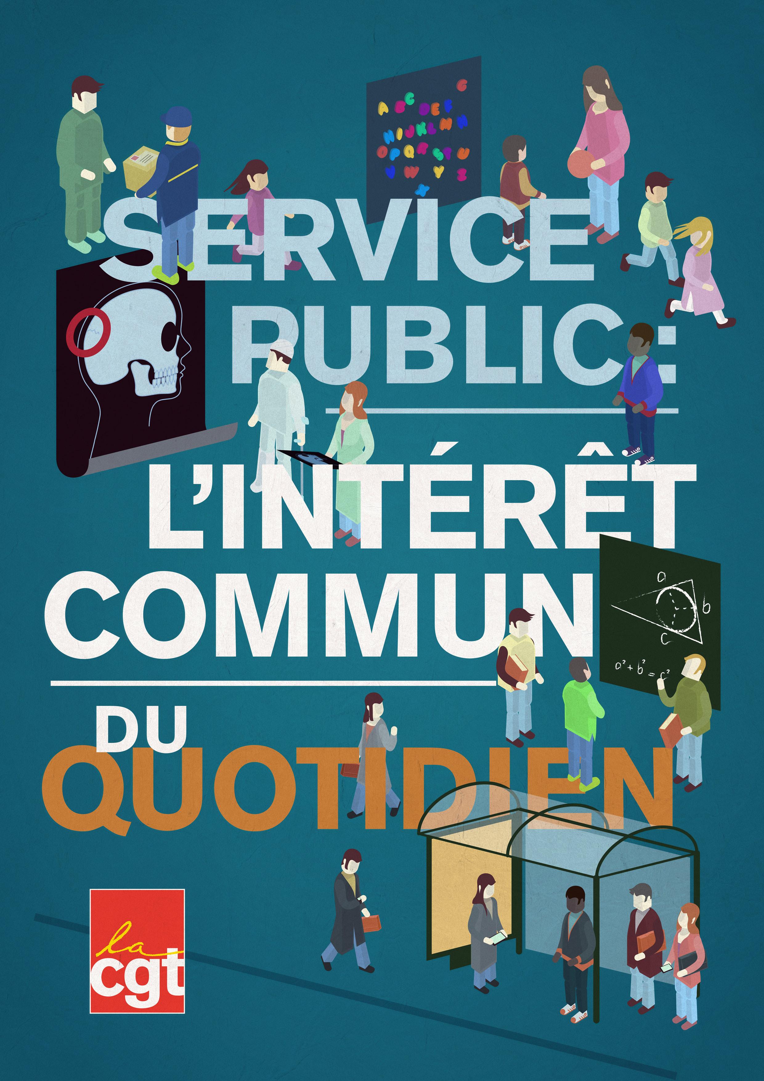 affiche service public