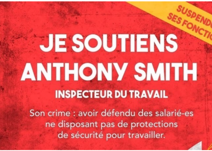 Je soutiens à Anthony Smith